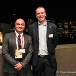 LAE General Manager Camilo Gonzalez with Griffith International Deputy Director Paul Mullally