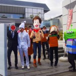 Students dressed as characters from Toy Story