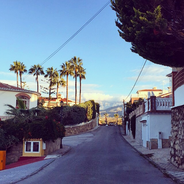 This year my pitstop was a week in Torre del Mar, Spain - to visit mi padre