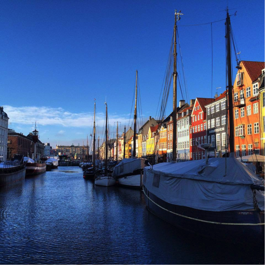 Boats on Nyhavn Canal