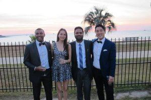 Griffith Uni delegates enjoying the sunset in Darwin.